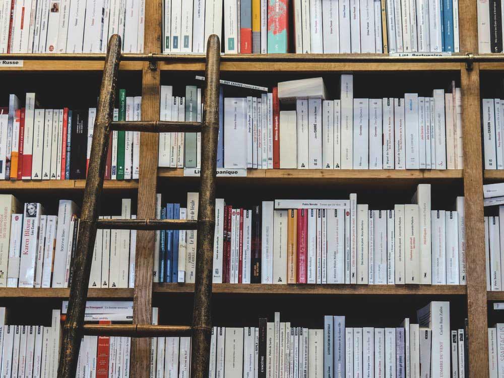 Échelle de bibliothèque