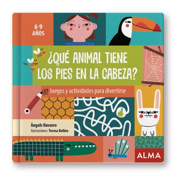 ¿Qué animal tiene los pies en la cabeza?