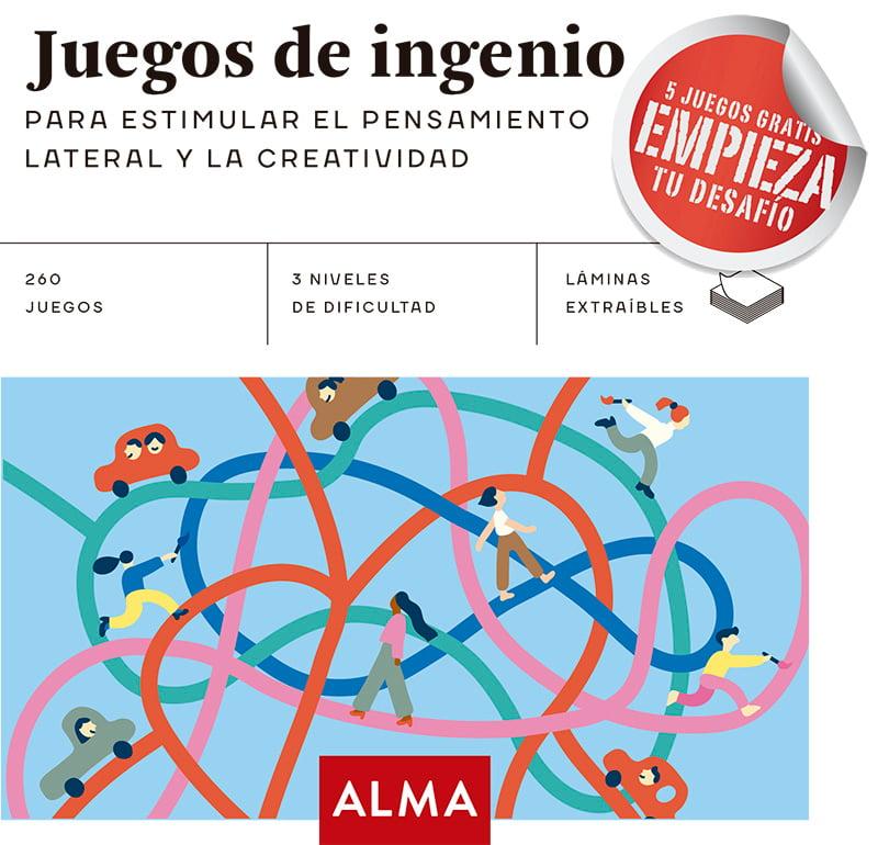 Juegos de ingenio para estimular el pensamiento lateral y creatividad