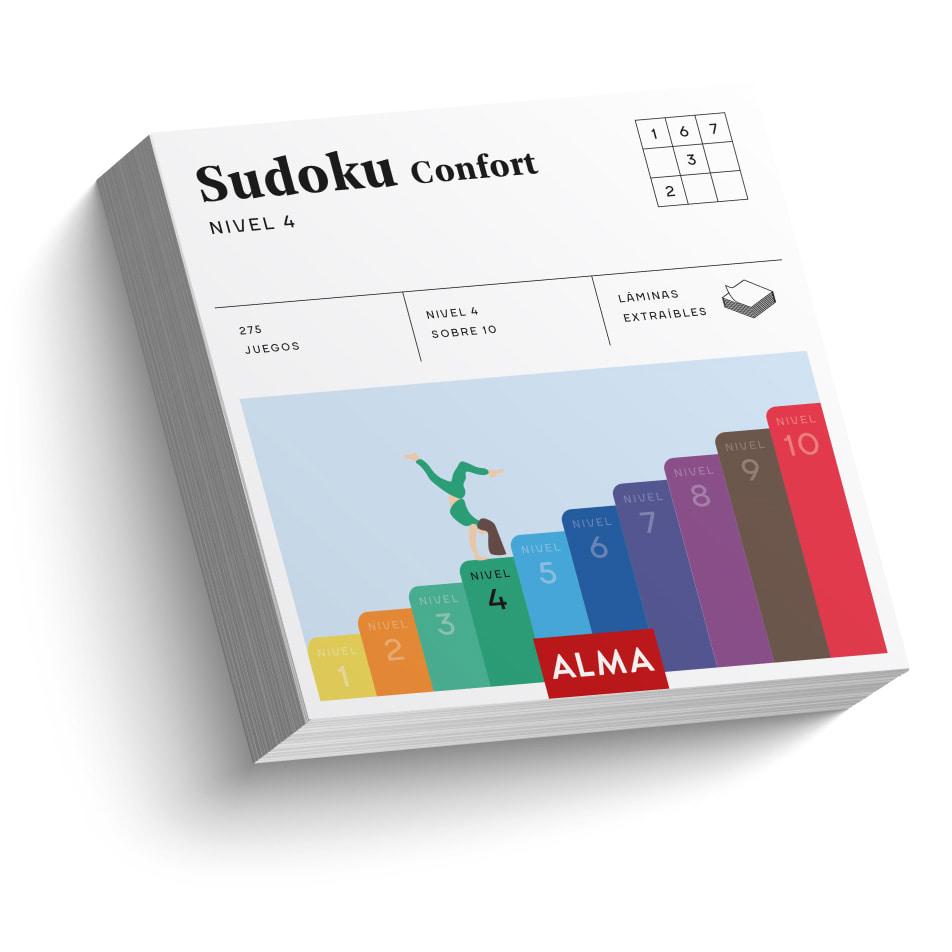 Sudoku confort. Nivel 4