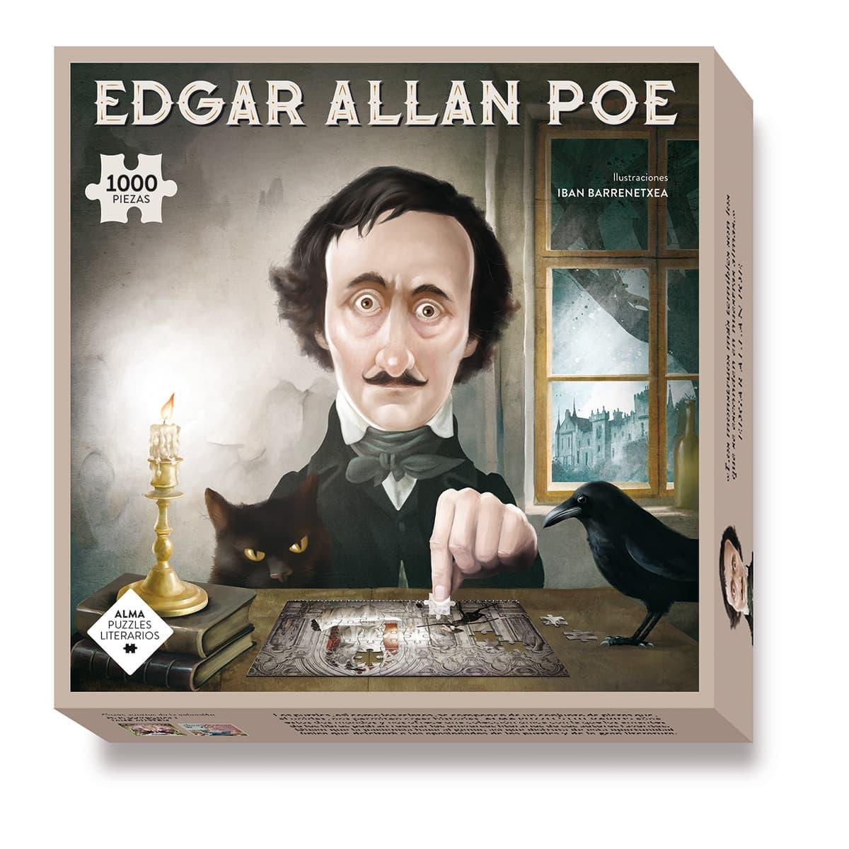 Puzzle Edgar Allan Poe 1000 pcs