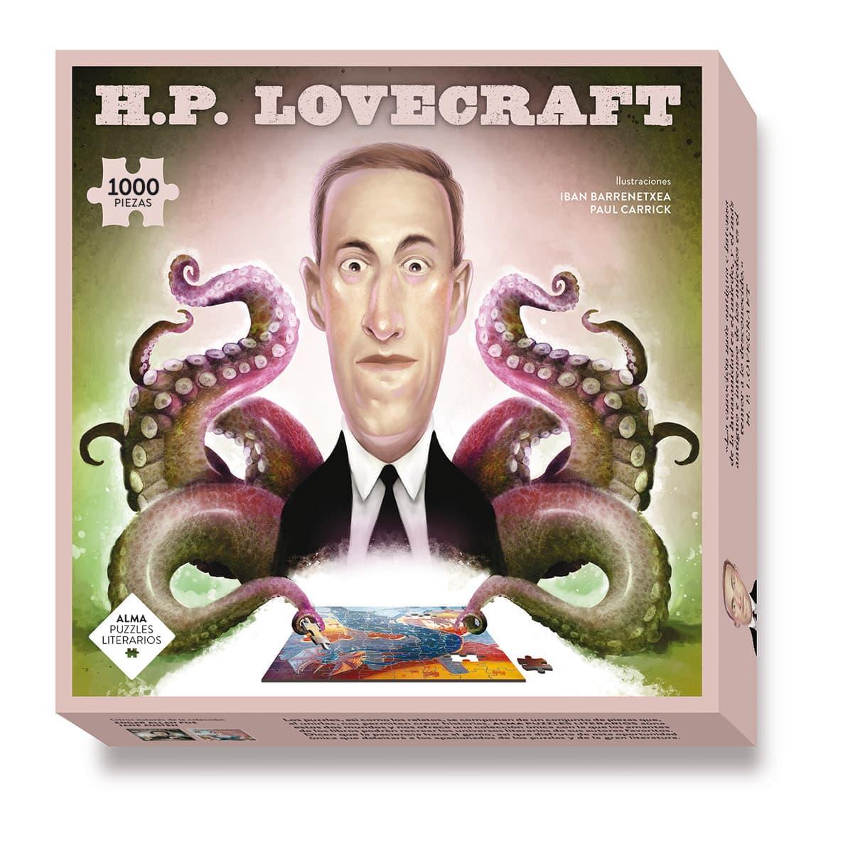 Puzzle H.P. Lovecraft 1000 pcs