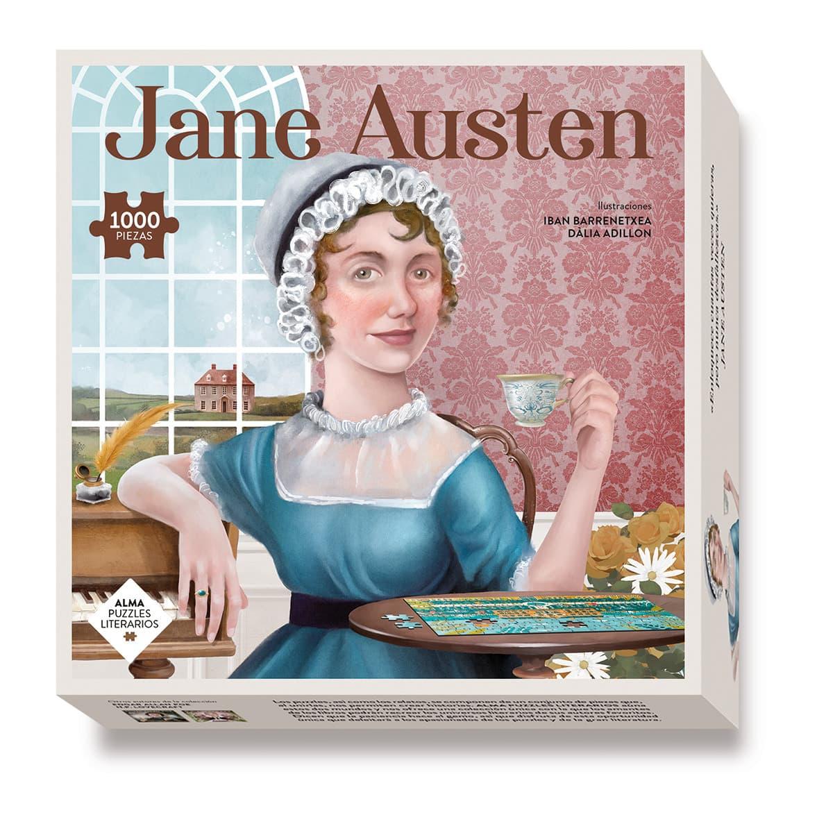 Puzzle Jane Austen 1000 pcs
