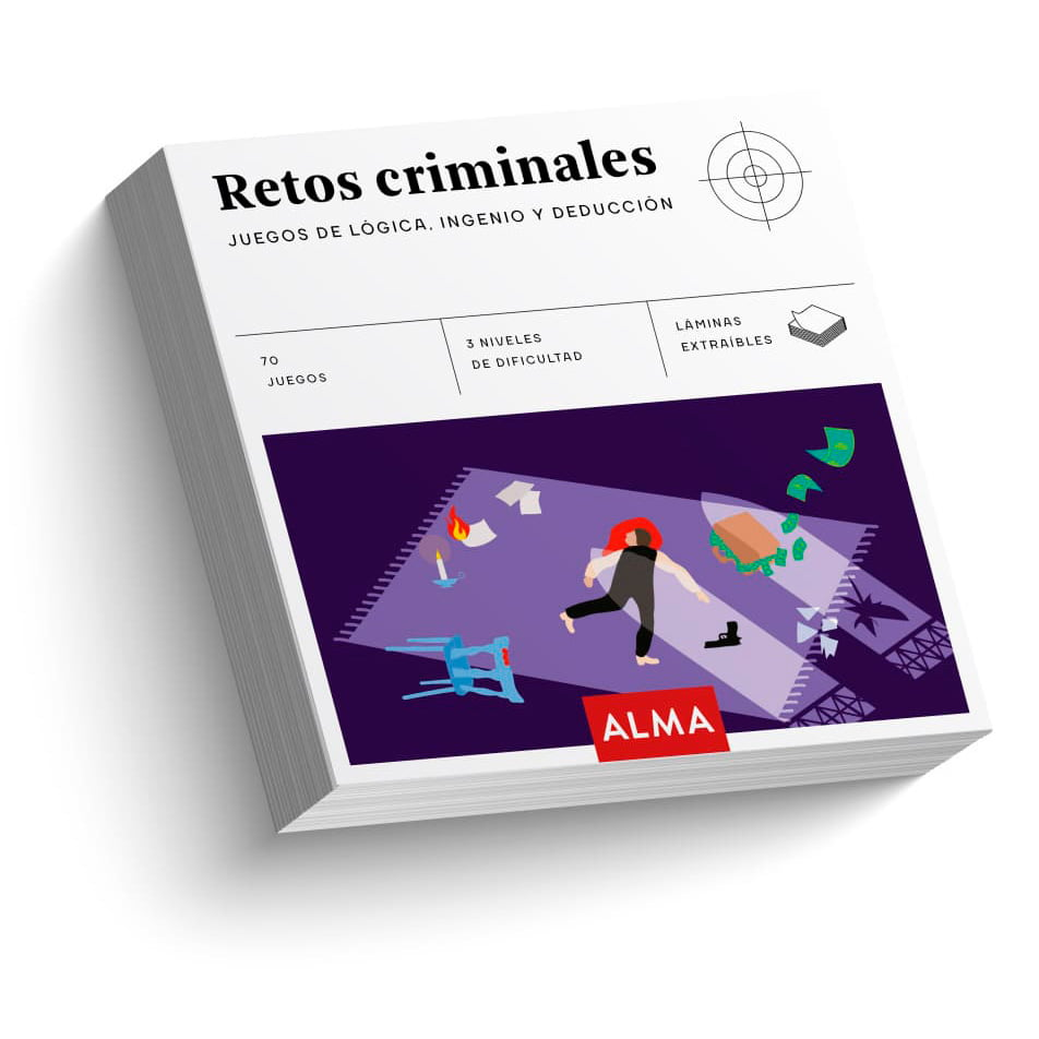 Retos criminales. Juegos de lógica, ingenio y deducción