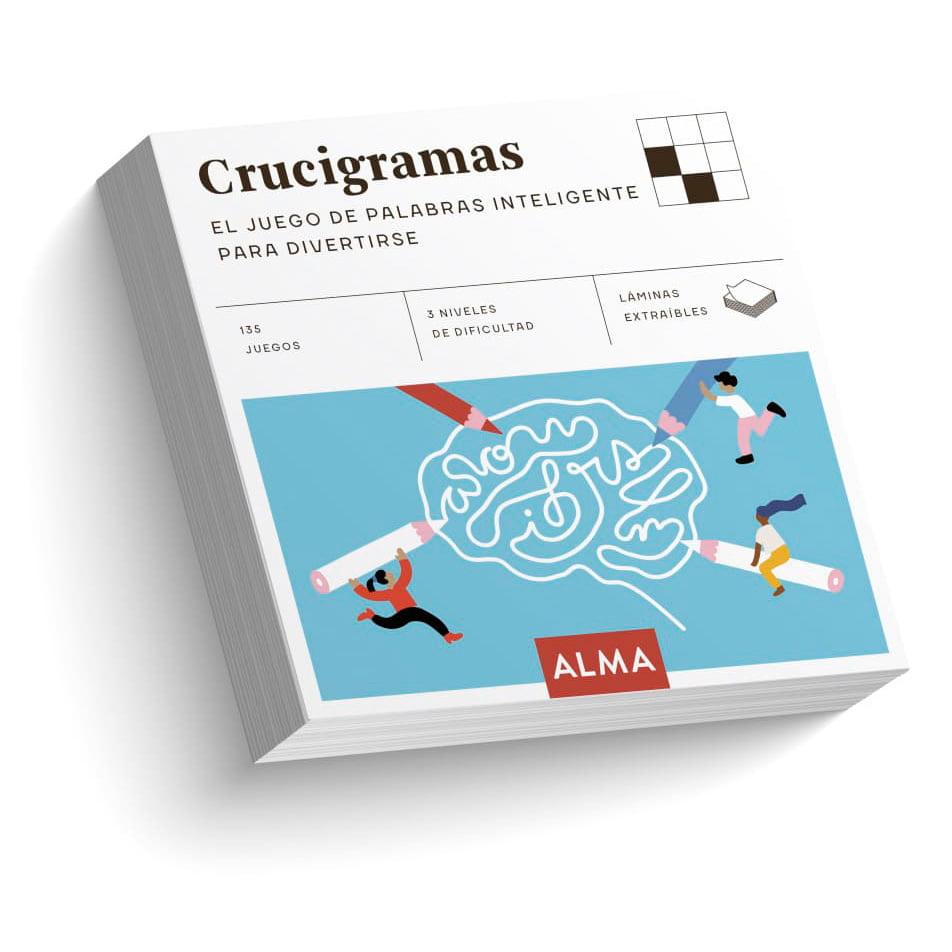 Crucigramas. El juego de palabras inteligente para divertirte