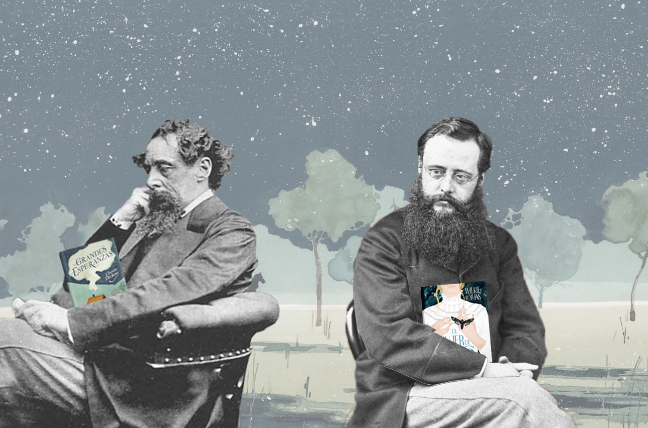 Grandes amistades: Charles Dickens y Wilkie Collins