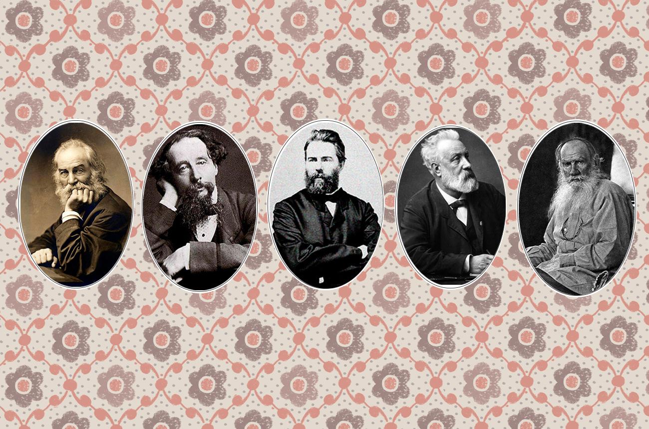 Las mejores barbas de la literatura