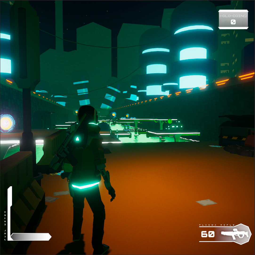 Screenshot from student game