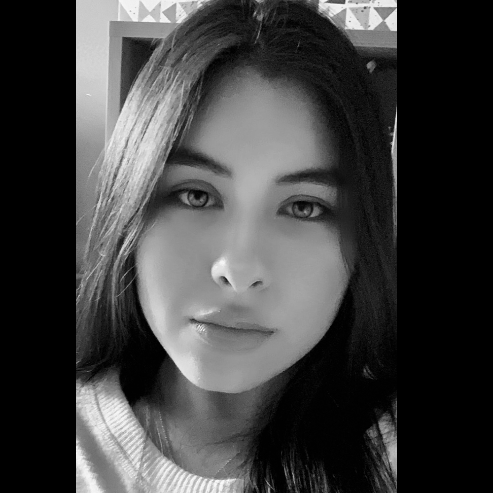 Black and White picture of Salma