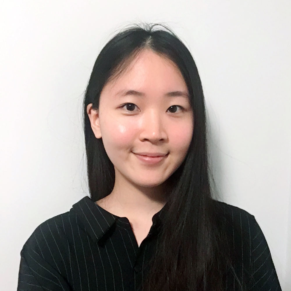 Picture of Sian, wearing a black blouse