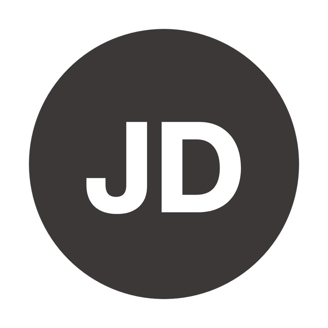A logo of Johd's website