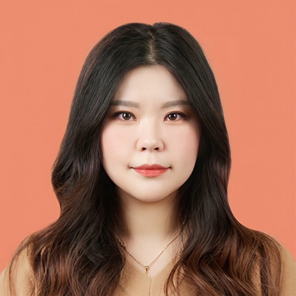 Picture of Haein, wearing a light brown shirt
