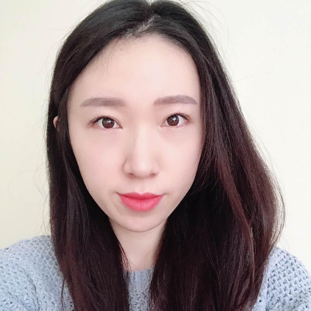 Picture of Jeongah wearing a grey shirt