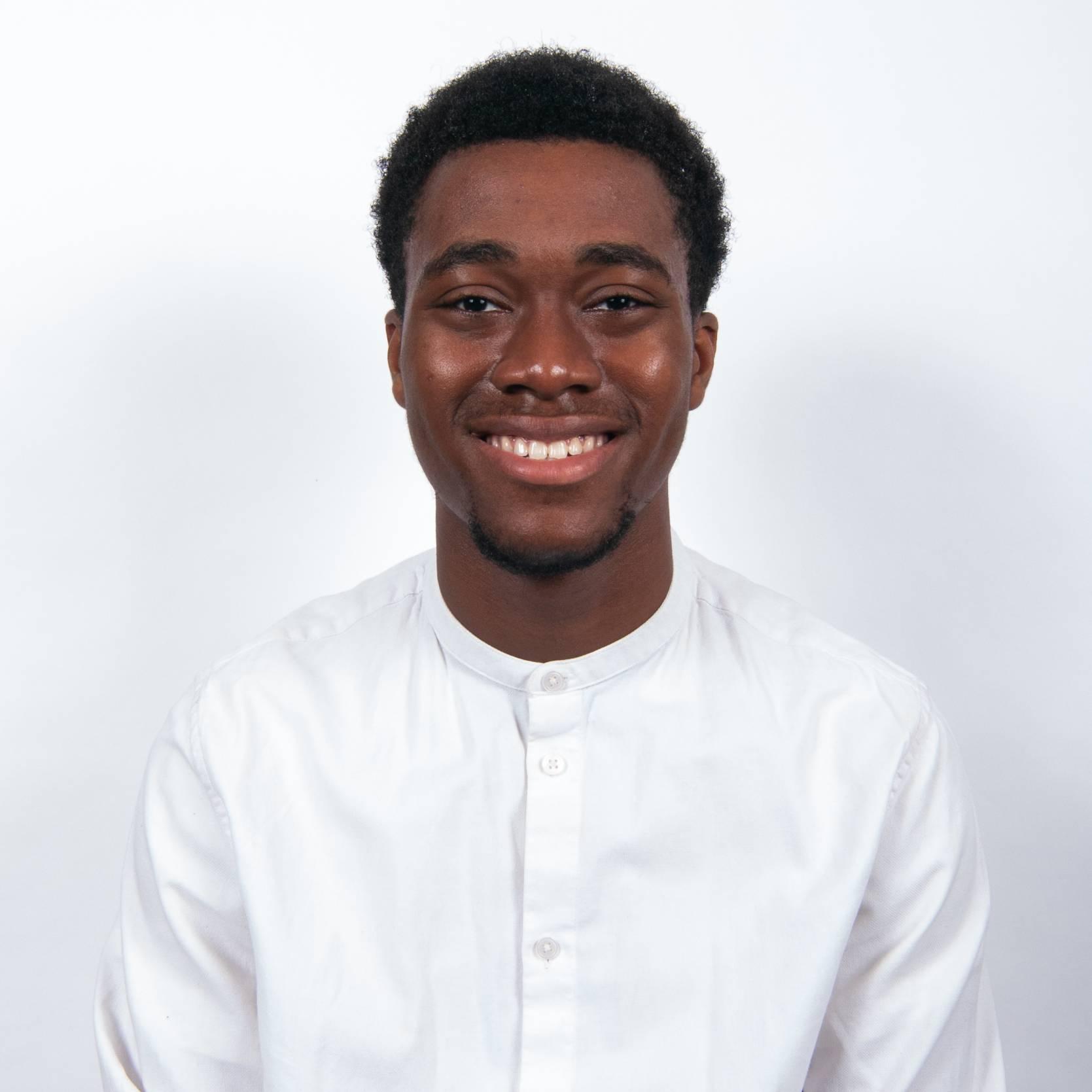 Photo of FMTV Graduate Stephen Owusu