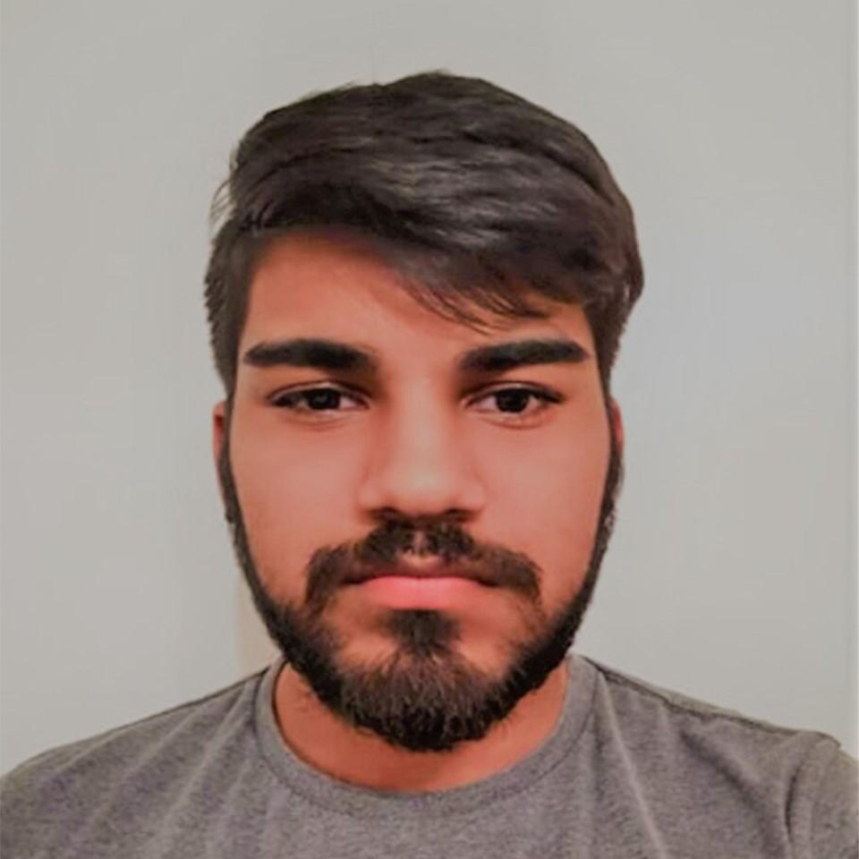 Picture of Kunaal Datt, wearing a grey shirt