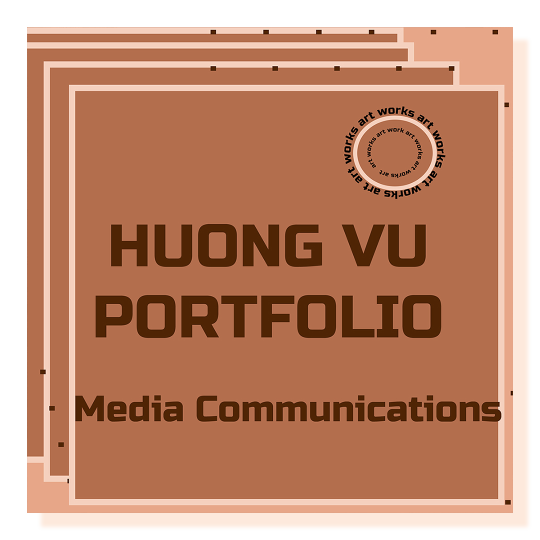 Square brown logo on brown background.