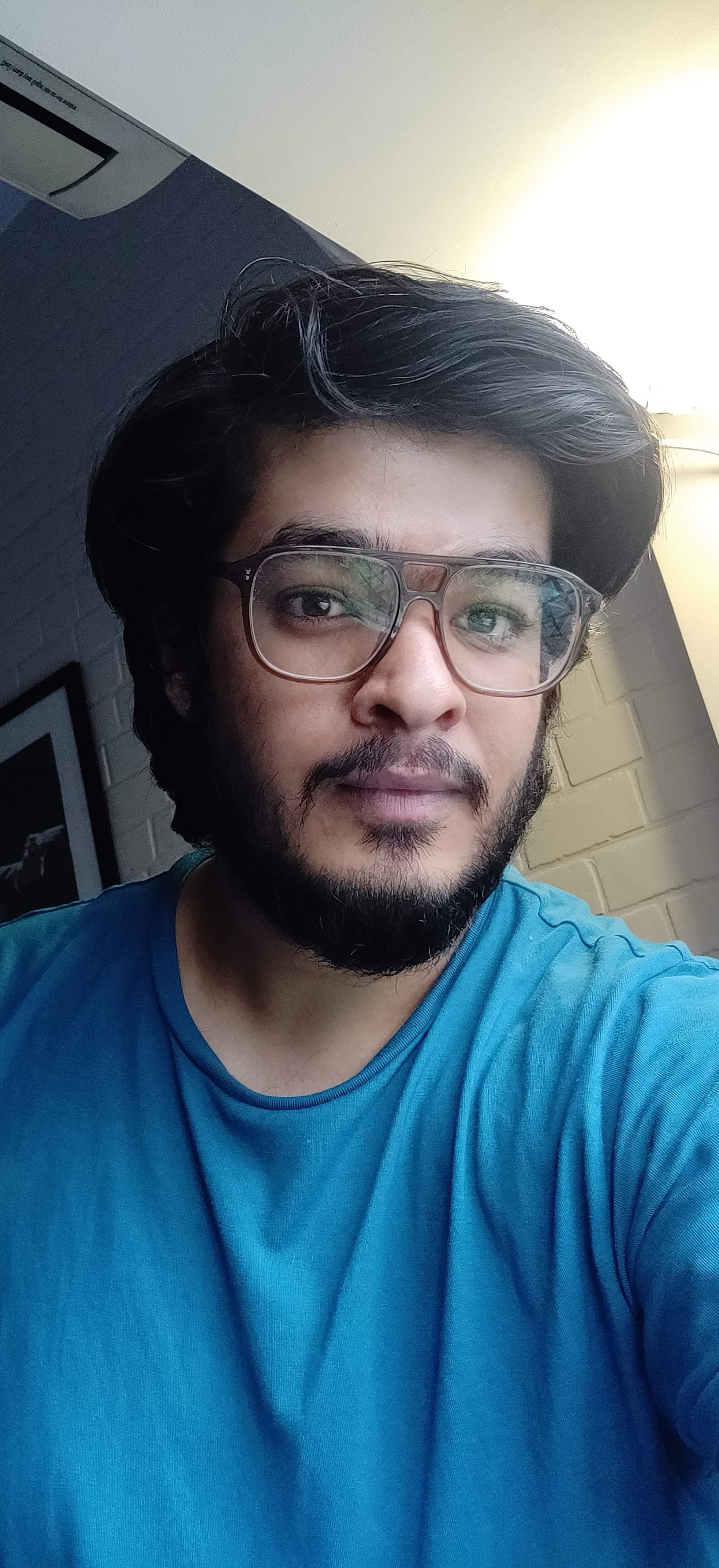 A picture of Karan Saraf, Journalism grad