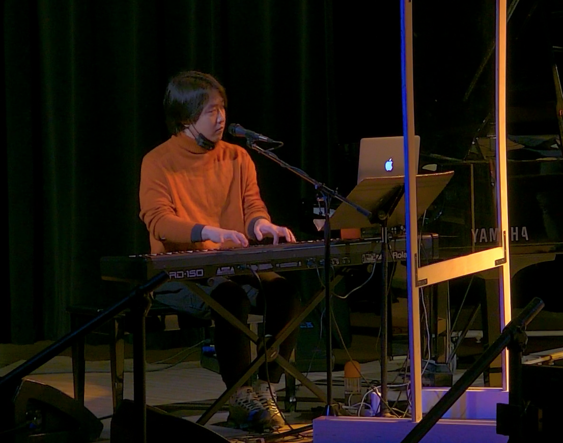 This is a picture from my final recital at Humber.