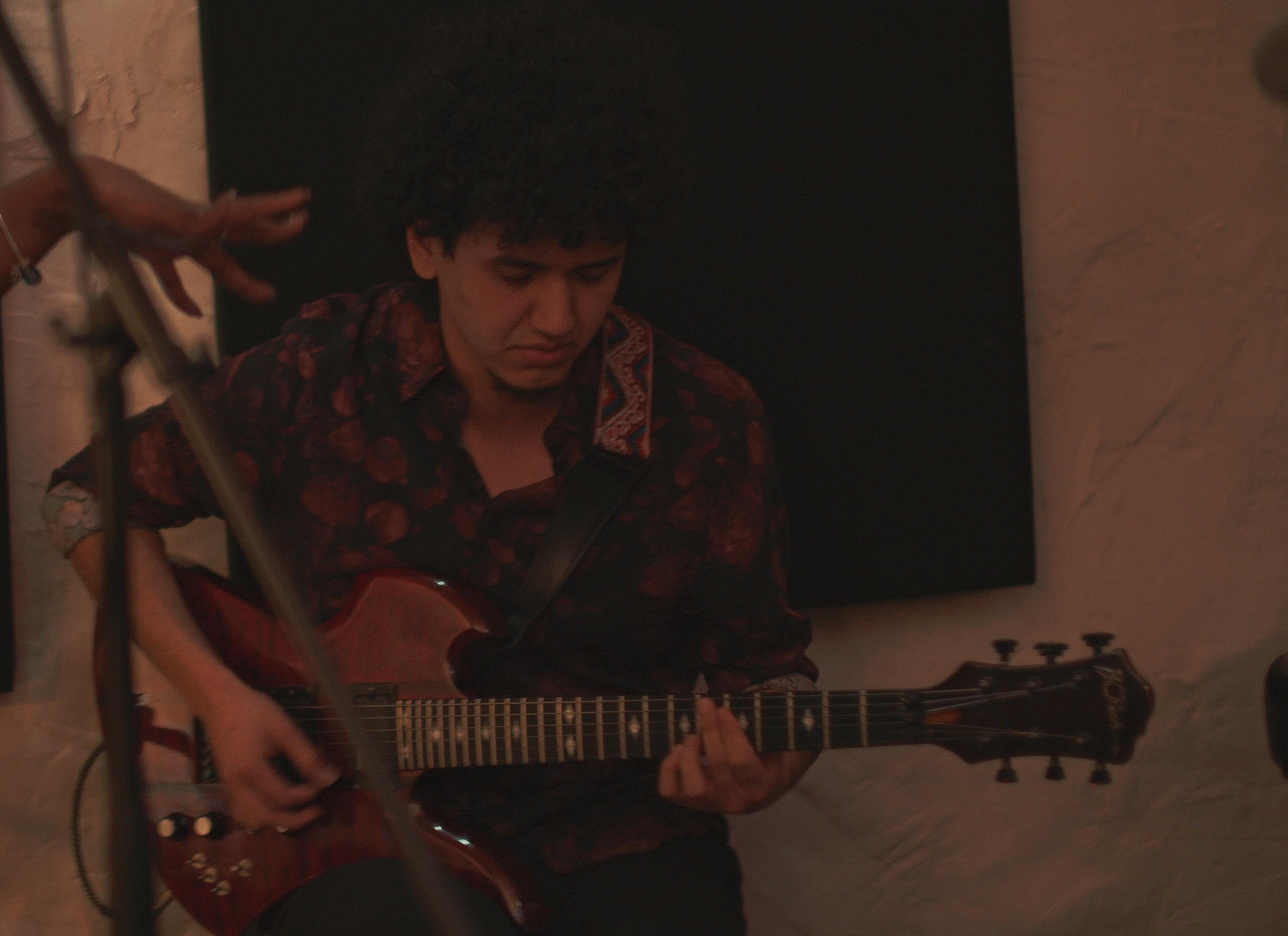 Sergio performing at EZLife Studios