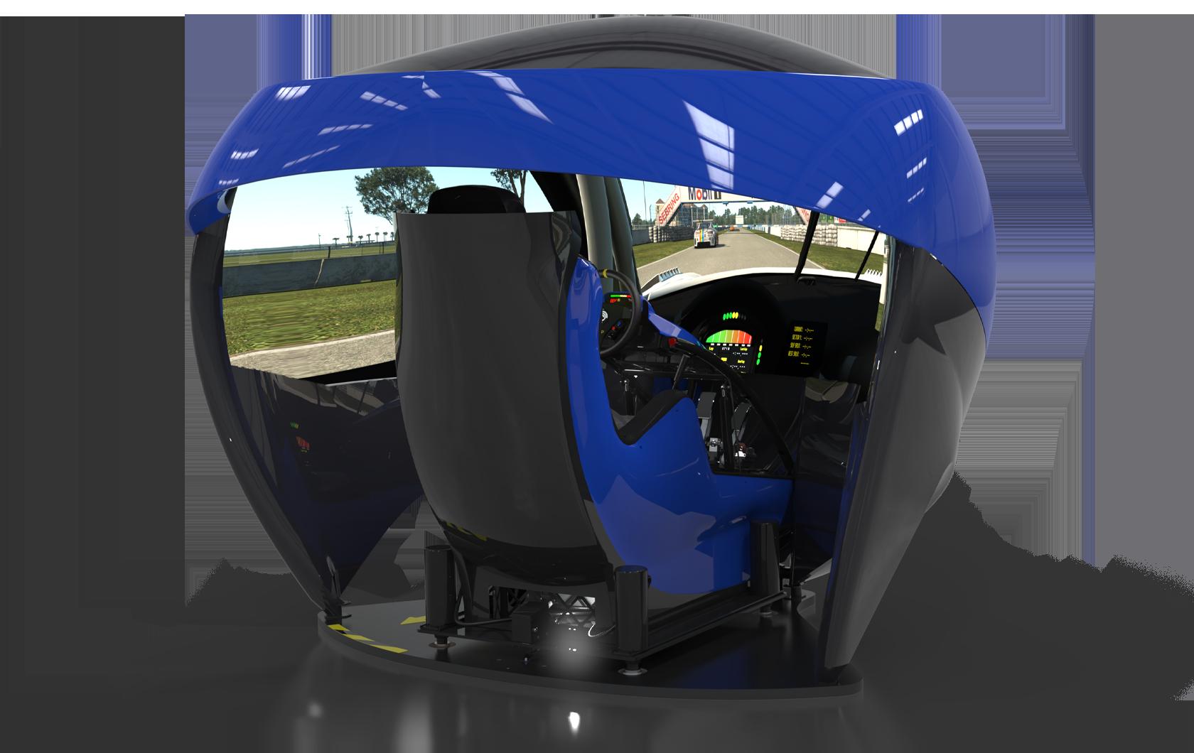 Blue TL3 Cockpit
