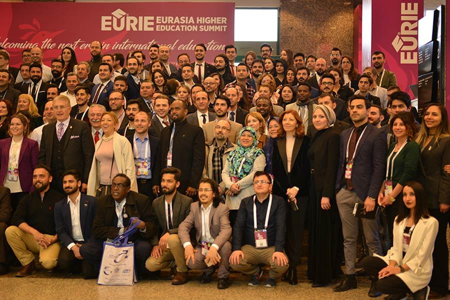 في Eurie 2019، تواصلت Marifet Group مع الجامعات الحكومية والخاصة التركية لمناقشة أفضل الأساليب لزيادة إمكانيات الطلاب الدوليين في تركيا.