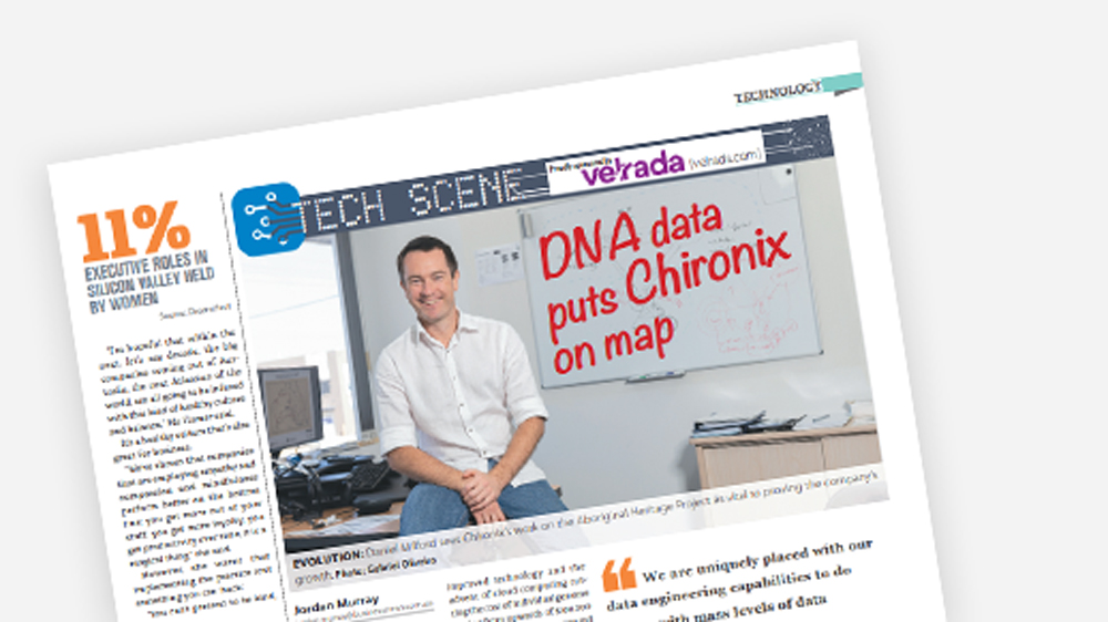 DNA DATA PUTS CHIRONIX ON THE MAP