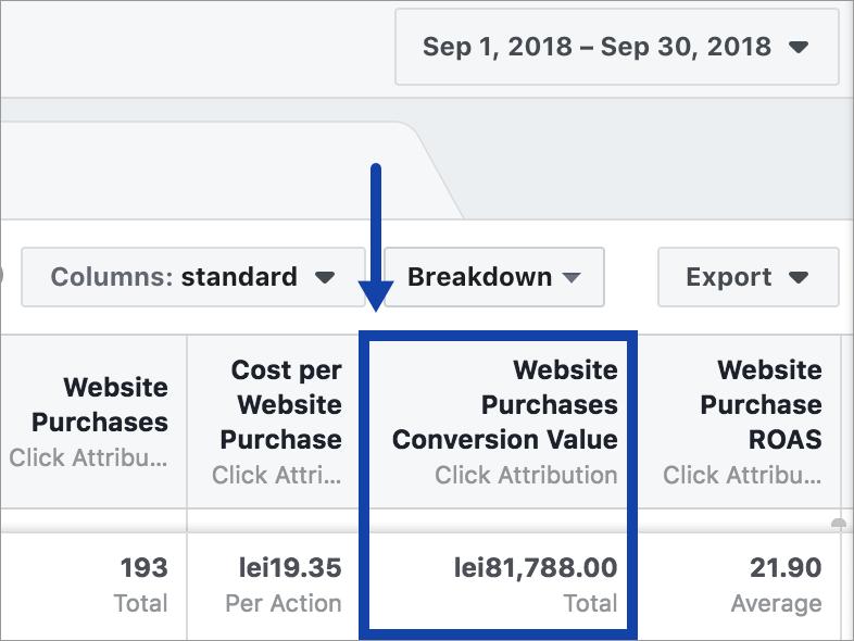 Agentia Maximize Promovare PPC Facebook Ads 10-performanta-cont-octombrie