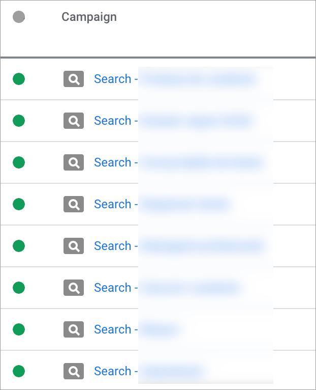Promovare Google Ads Maximize 5-campanii-search