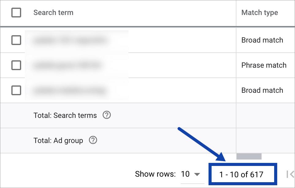 Promovare Google Ads Maximize 9-search-terms