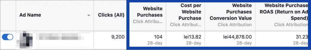 Agentia Maximize Promovare PPC Facebook Ads 6-performanta-anunturi