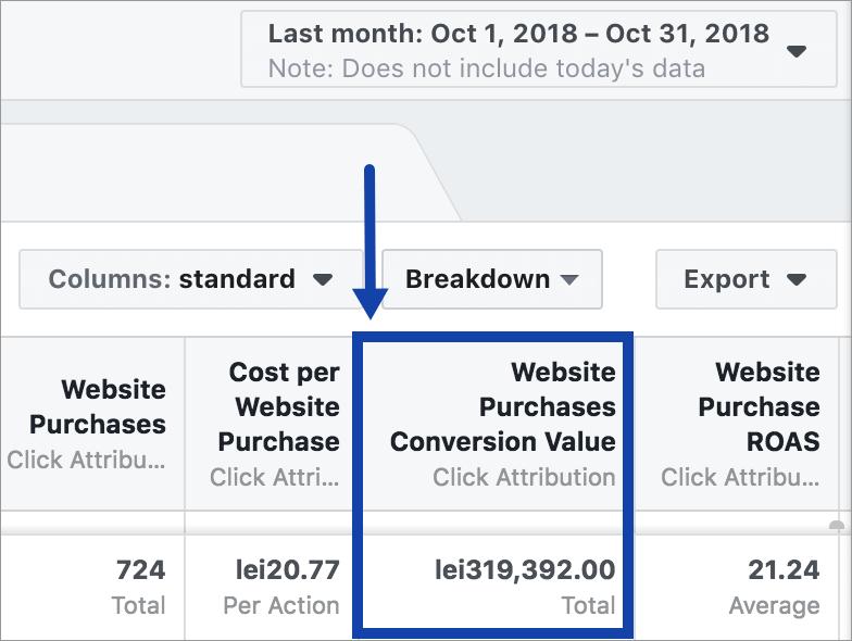 Agentia Maximize Promovare PPC Facebook Ads 10-performanta-cont-septembrie