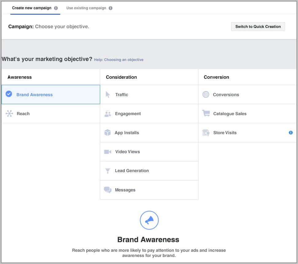 8-Agentie Marketing Online Maximize - articol Boost Post vs. Facebook Ads-Ads-Manager-obiective