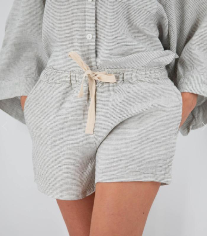 Carrie Linen Sleepwear Set