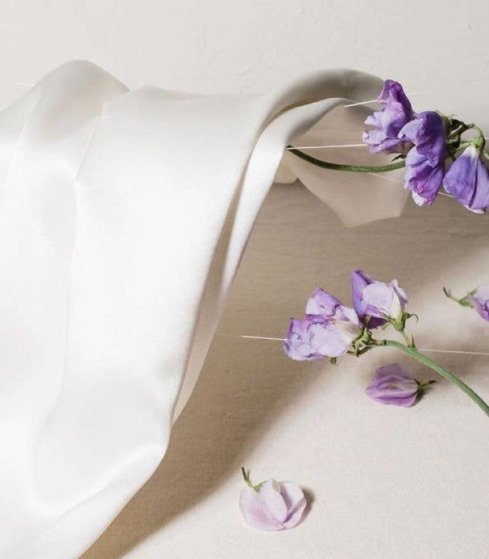 Cloud 9 Silk King Pillowcase - IVORY WHITE