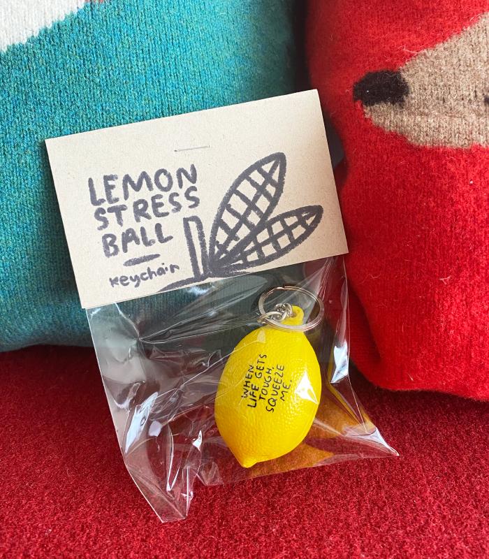 LIMITED EDITION Lemon Stress Ball