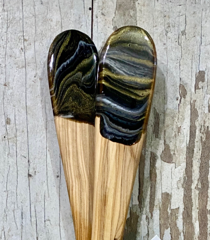 Olive Wood Spatula set