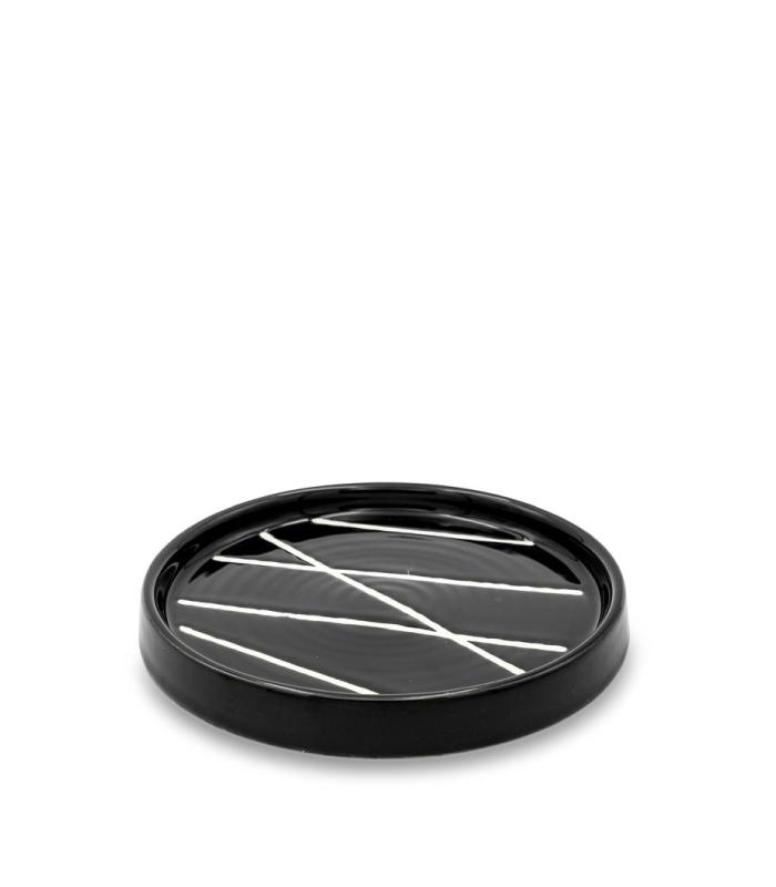 Ceramic Plate - Onyx