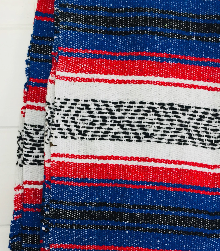 Freedom Throw Mexican Blanket
