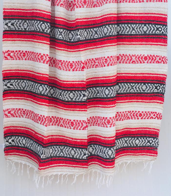 Sahara Beach Mexican Blanket