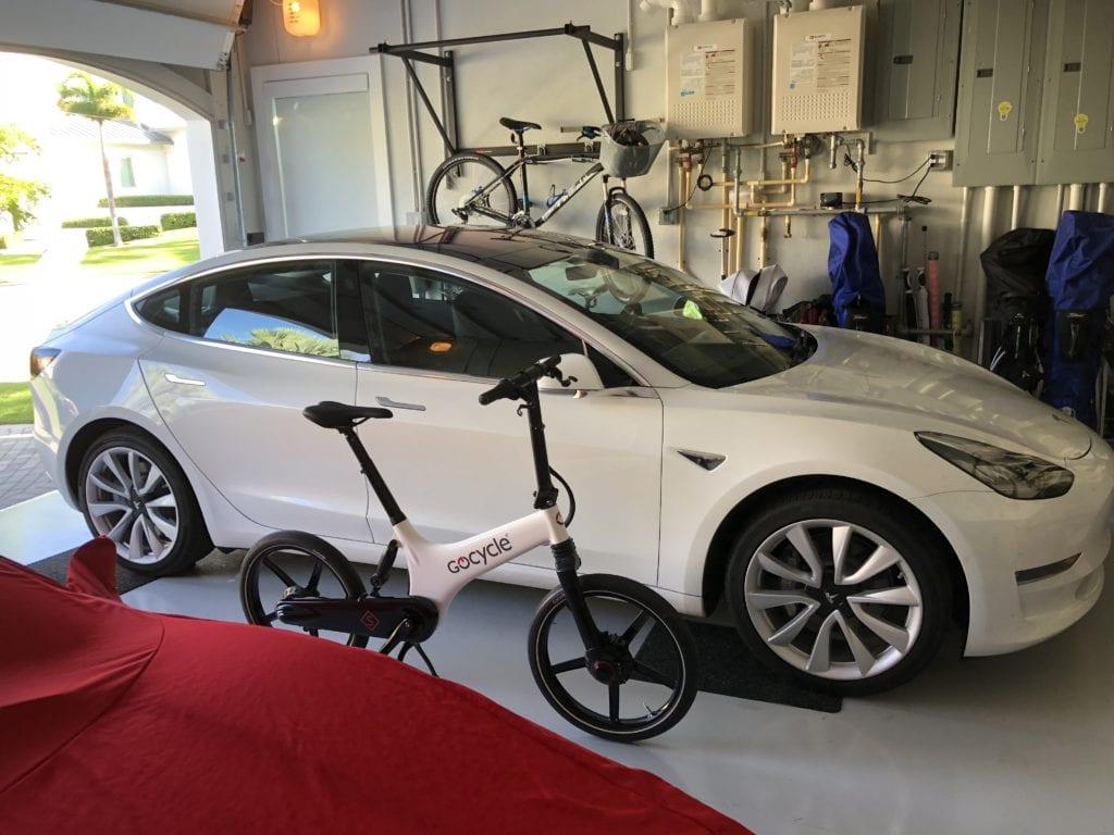 Tesla 3 Gocycle GS