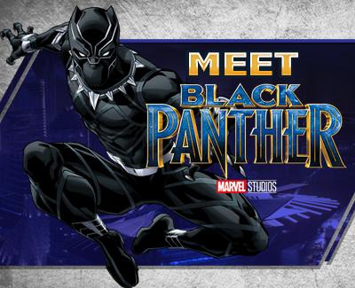 May 2018 - GIWP: Meet Black Panther