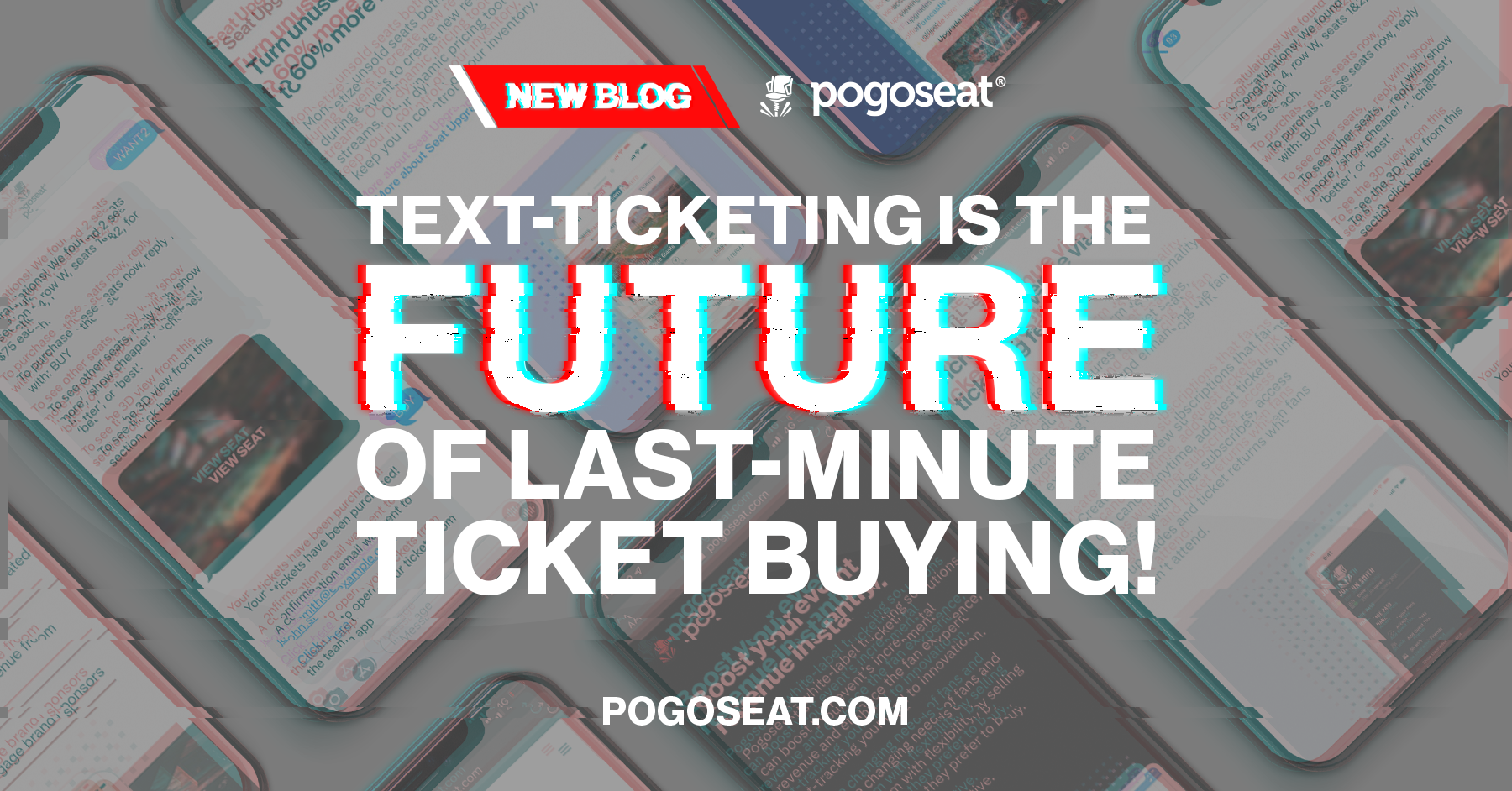 Text-Ticketing is the FUTURE of last-minute ticket buying!