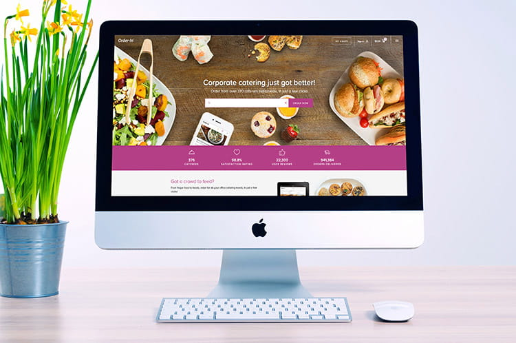 Bestel gemakkelijk bedrijfscatering op een online catering platform