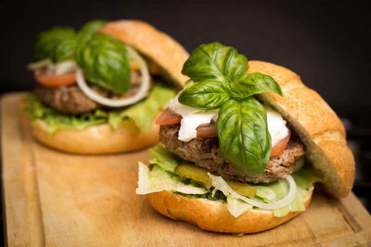 hamburger catering
