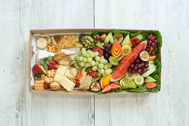 presentation is important with office catering