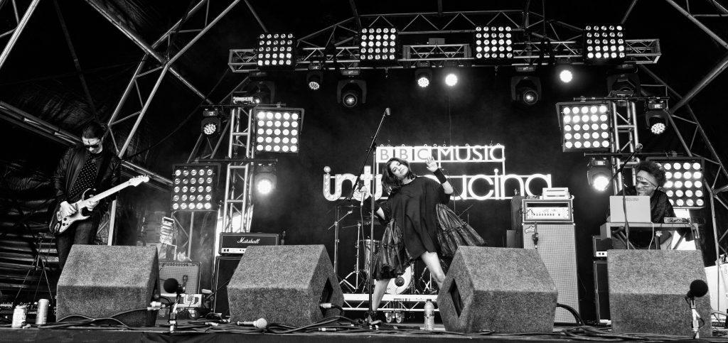 Singer, songwriter, producer Ishani live at Reading Festival (1)