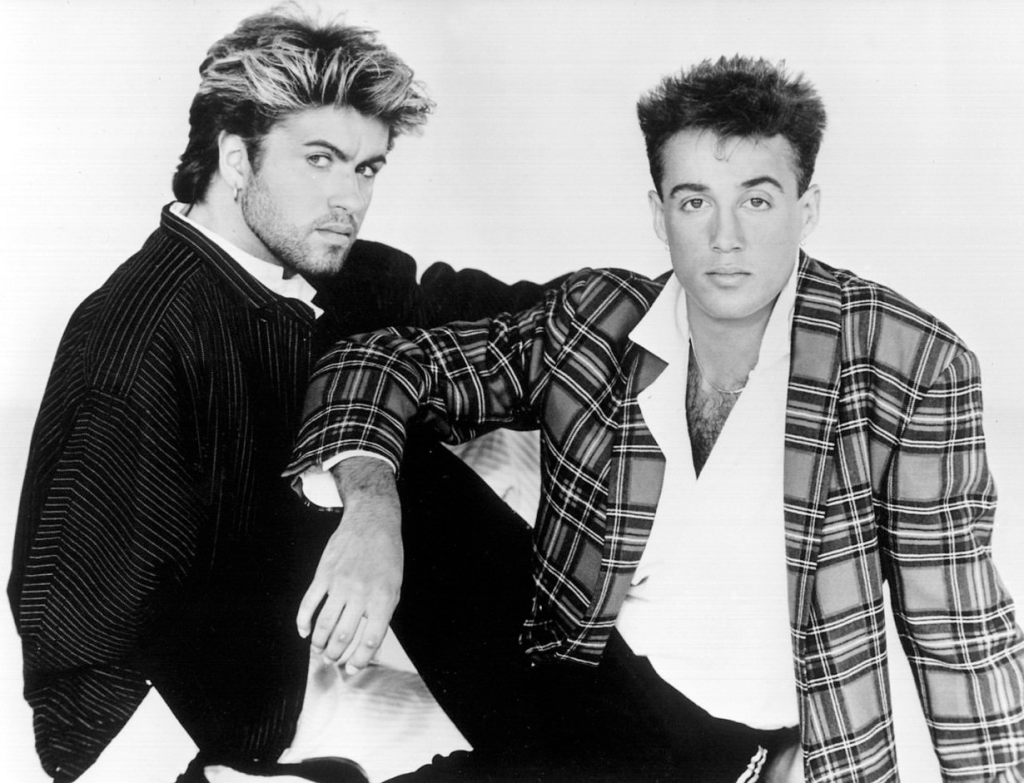 Picture of music duo Wham!