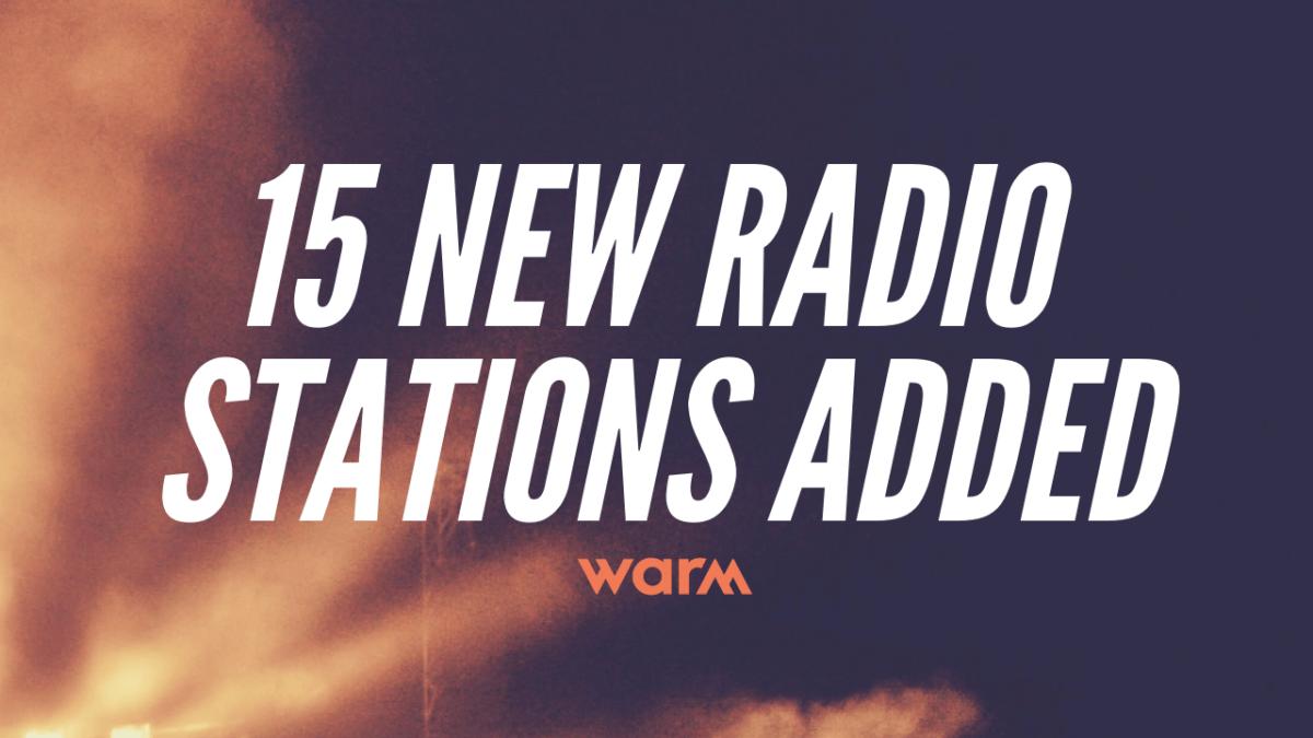 new radio stations