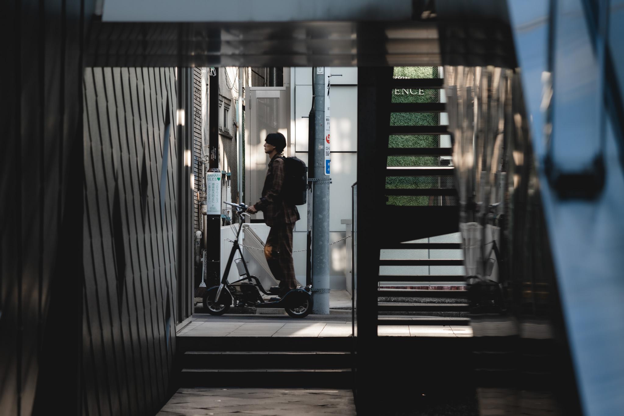 wbc walking bicycle tokyo japan walkthrough