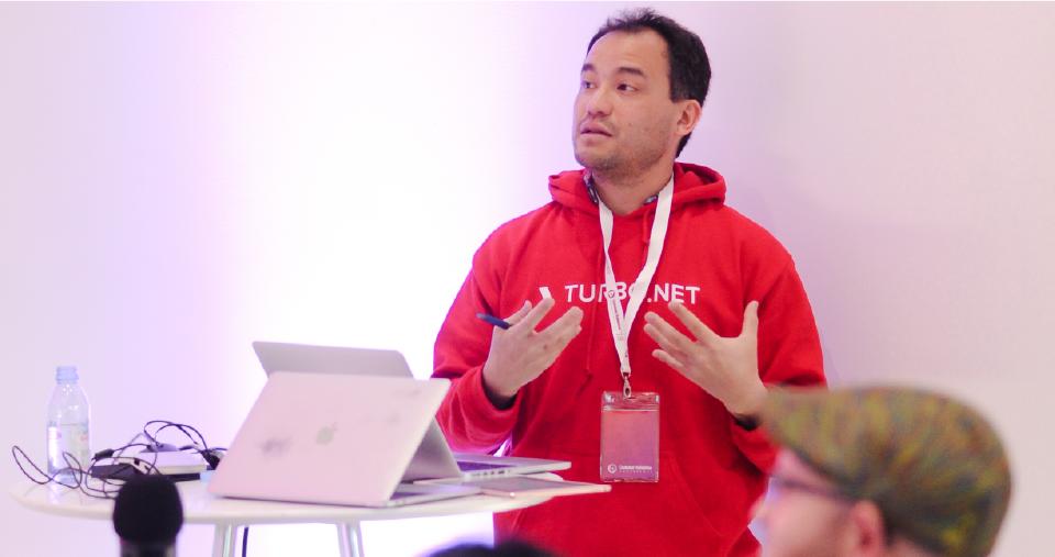 Kenji Obata of Turbo.Net Gives a Presentation at 2018 CV Conference